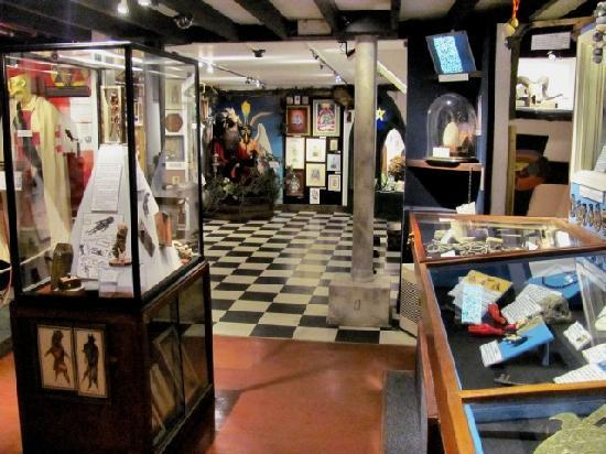 The Museum of Witchcraft and Magic: Upper level of museum