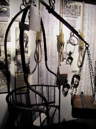 The Museum of Witchcraft and Magic: torture instruments
