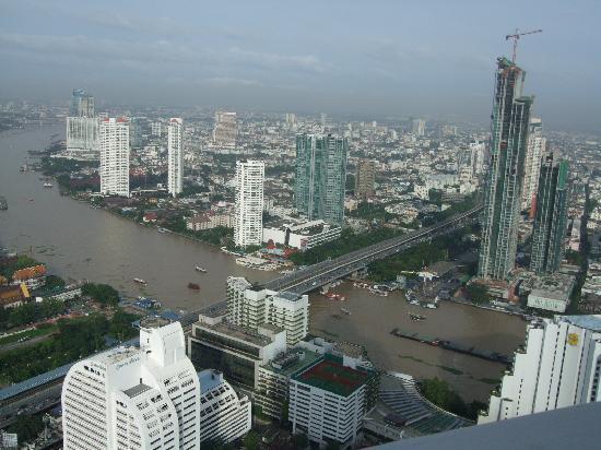 lebua at State Tower: 川が見えます。