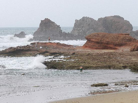 Пляж Легзира: Legzira Plage - Dalla finestra