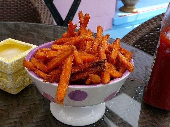 Serendipity Restaurant Sweet Potato Fries At