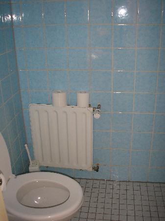 Hotel Haus Reichert: das alte WC