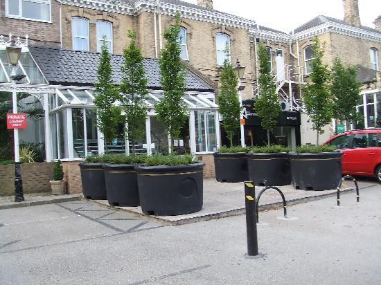 BEST WESTERN Willerby Manor Hotel: Entrance to Reception