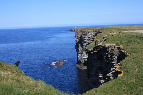 Mainland, UK : Birsay Lighthouse In The Distance