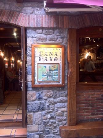 Restaurante Casa Cayo : casa cayo