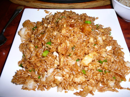 Confucius Chinese Cuisine: Pineapple-Chicken Fried Rice at Confucius May 2011