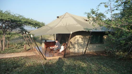 White Elephant Safari Lodge: Tent