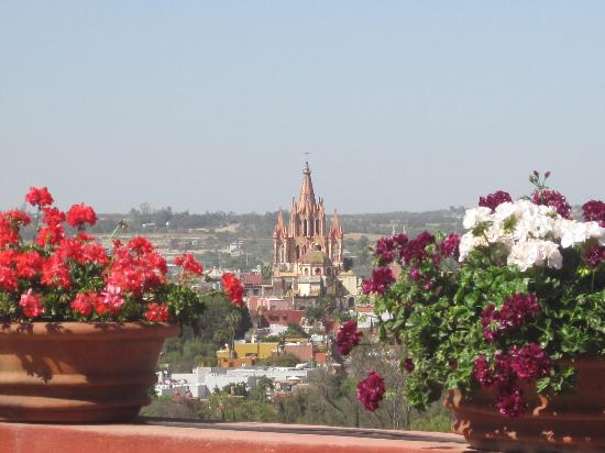 Casa Maria Bed and Breakfast: vista desde donde desayune