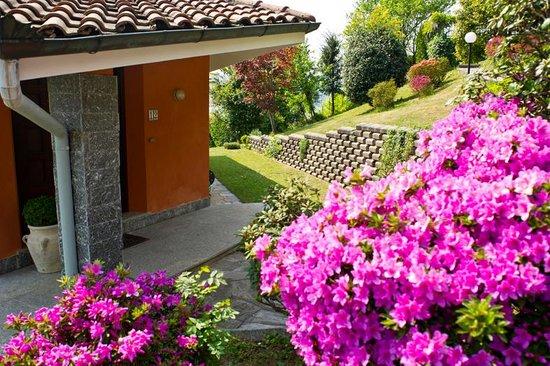 Villa Pinin: The house entrance