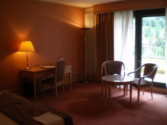Hotel Roc de Caldes: la chambre