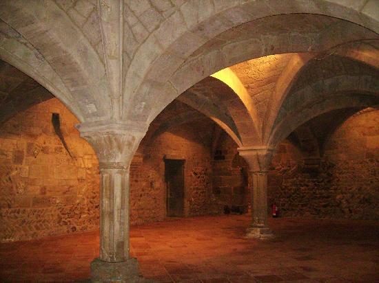 Vera de Moncayo, Spania: habitacion del monasterio