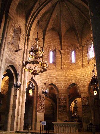 Vera de Moncayo, Spania: altar del monasterio,veruela