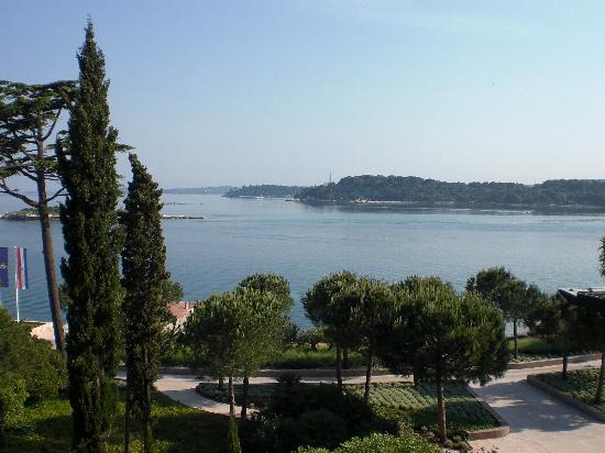 Island Hotel Istra: View from balcony