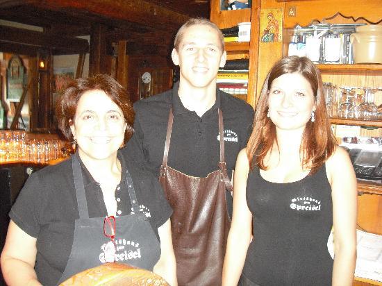 Zum Spreisel: Wonderful Staff