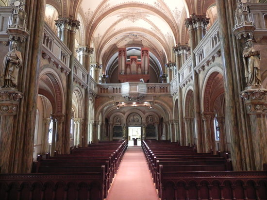 La Crosse, WI: organ view