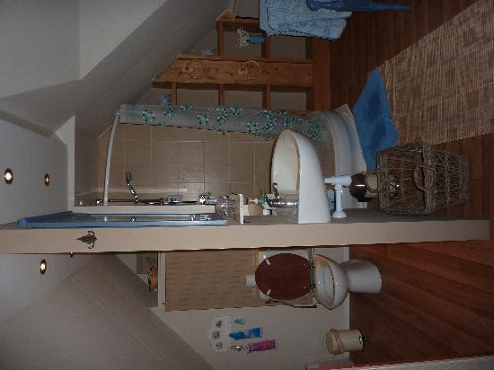 Onder de Pannen: salle de bains