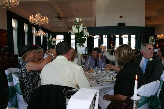 The Atlantic Hotel: The wedding breakfast