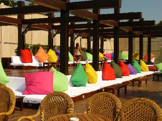 Voyage Sorgun: Beach bar seating (Chill out)