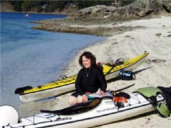 Adventuress Sea Kayaking: chocolate beach