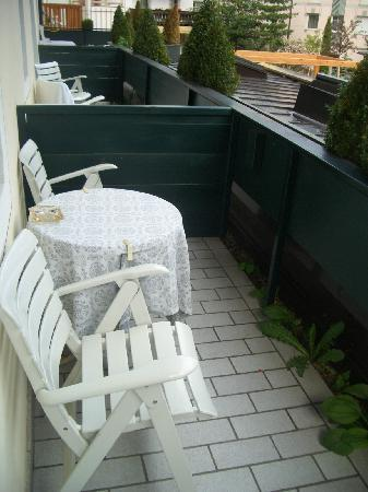 Hotel Drumlerhof: Balkon - mit Grünzeug