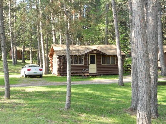 Bert's Cabins: One of 12