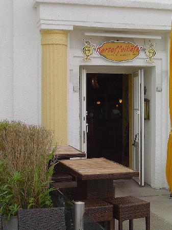 Kartoffelkafer Borkum: Eingang Kartoffelkäfer Restaurant