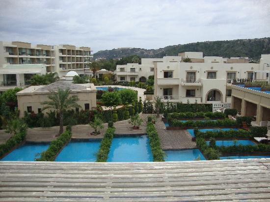 SENTIDO Ixian Grand: view from maisonette