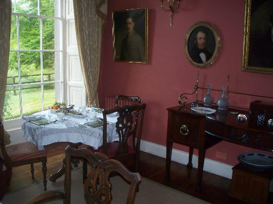 Ballyduff House: Our Breakfast Table for Three