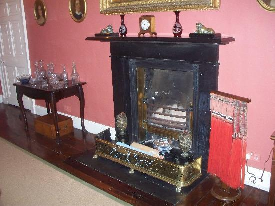 Ballyduff House: Fireplace in the Dining/Breakfast Room