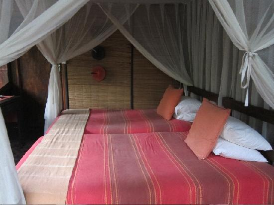 Kosi Forest Lodge : The bedroom