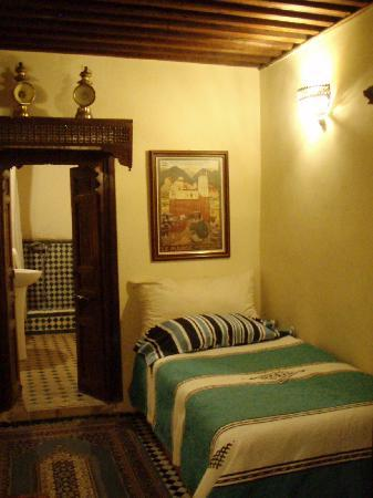 Riad Damia : Double bedroom (2 single beds)