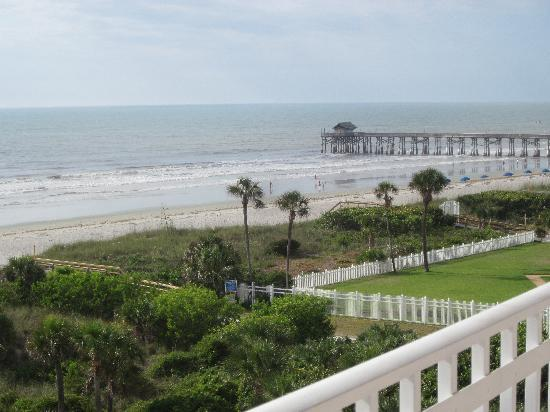 Discovery Beach Resort View Of Cocoa Pier From The Room Balcony
