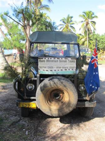 Raro Mountain Safari Tour: Our trusty 4x4