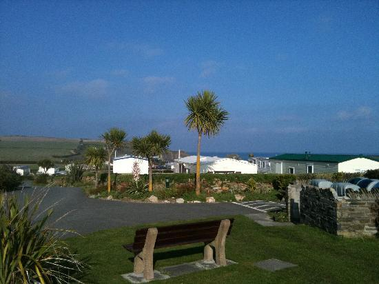 St Merryn, UK: Lovely views at MIB