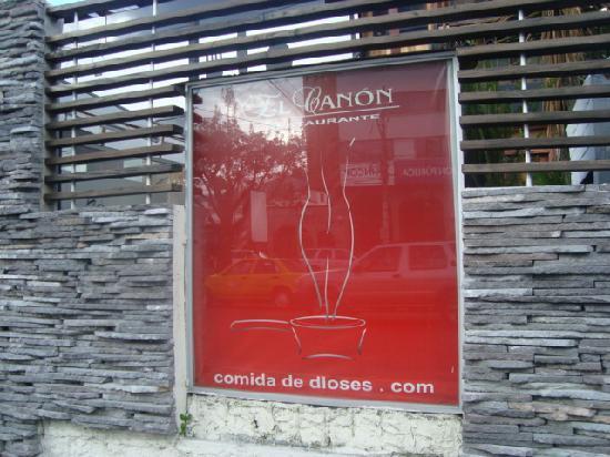Restaurante El Canon: El Cañon restaurante