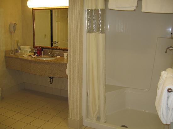 وين جيت باي ويندام ليك جورج: bathroom