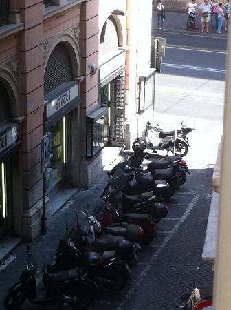 Palazzo Olivia: view from Fiorello