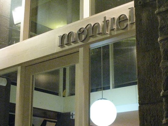 Restaurant Montiel : Exterior