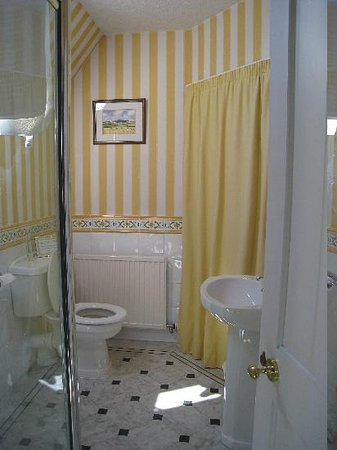 Highfield House: Bathroom is immaculate and tastefully decorated.