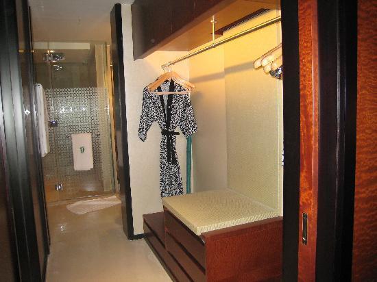 Banyan Tree Macau: changing room