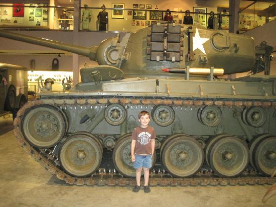 Wright Museum of WWII: tank