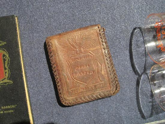 Wright Museum of WWII: WWII memorabilia