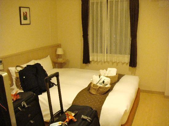 Arietta Hotel Osaka: Very comfy bed and pillows!