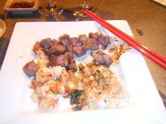 Samurai Japanese Steak House: My meal