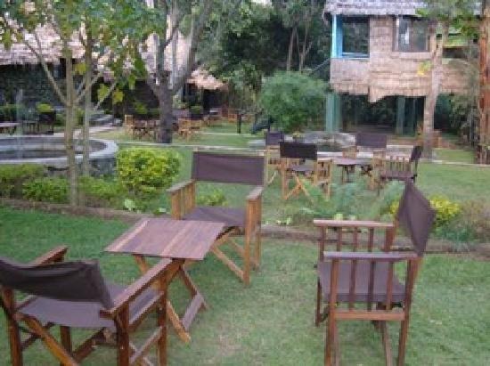 L Oasis Lodge and Restaurant Hotel: Front garden