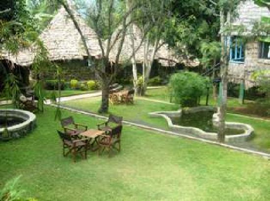 L Oasis Lodge and Restaurant Hotel: Garden