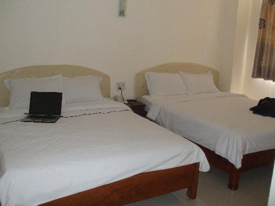 Galaxy Hotel Nha Trang: beds