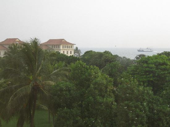Taj Samudra Colombo: View from the hotel room
