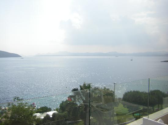 Bodrum Holiday Resort & Spa : vue depuis la terrasse du resto