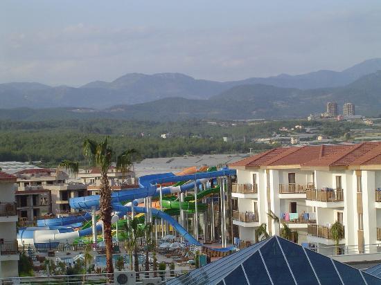 Eftalia Aqua Resort: view from our balcony to the left